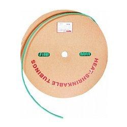 Трубка термоусадочная 8/4, 100м, зеленая, e.termo.stand.roll.8.4.green