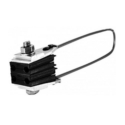 Фото Зажим анкерный для СИП изолированный e.i.clamp.si.4.16.35, с проволочной скобой Электробаза
