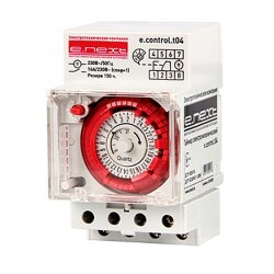 Таймер электромеханический 54 мм e.control.t04