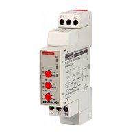 Реле контроля напряжения однофазное 1,5А e.control.v02