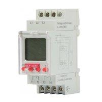 Реле контроля напряжения трехфазное 1,5А цифровое e.control.
