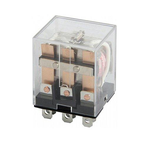 Реле промежуточное, 10А, 3 группы контактов, катушка 12В DC, e.control.p1031