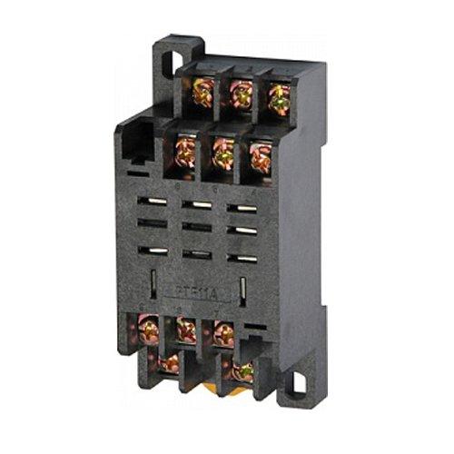 Фото Разъём для промежуточного реле, модульный, 10А, на 3 группы контактов, e.control.p103s Электробаза
