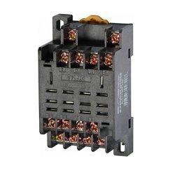 Разъём для промежуточного реле, модульный, 10А, на 4 группы контактов, e.control.p104s
