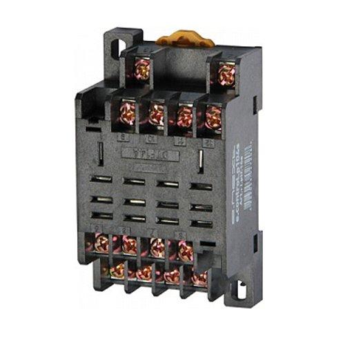 Фото Разъём для промежуточного реле, модульный, 10А, на 4 группы контактов, e.control.p104s Электробаза