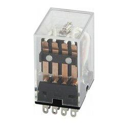Реле промежуточное, 3А, 4 группы контактов, катушка 12В DC, e.control.p341