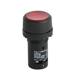 Кнопка NC, красная с подсветкой, e.SB7.24