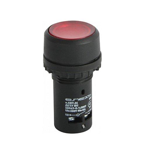 Фото Кнопка NC, красная с подсветкой, e.SB7.24 Электробаза