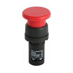 Кнопка-грибок NO+NC, красная, e.SB7.54