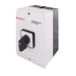 Пакетный переключатель, 3р, 32А (0-1-2) e.industrial.sb.0-1-2.3.32