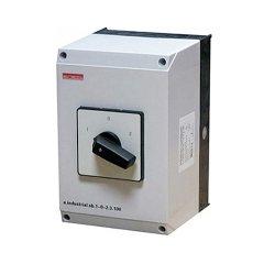 Пакетный переключатель, в корпусе, 3р, 100А (1-0-2) e.industrial.sb.1-0-2.3.100
