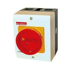 Пакетный переключатель, в корпусе, 4р, 32А (0-1) e.industrial.sb.1-0.4.32
