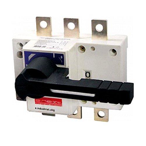 Фото Выключатель-разъединитель нагрузки, с фронтальной рукояткой, 3р, 125А, e.industrial.ukg.125.3 Электробаза