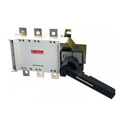 Выключатель-разъединитель нагрузки, с боковой рукояткой, 3р, 125А, e.industrial.ukgz.125.3