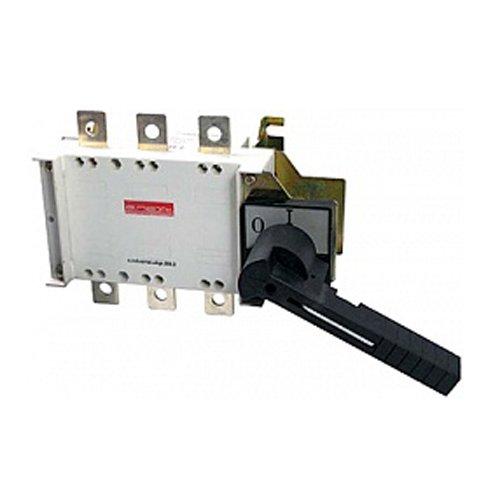 Фото Выключатель-разъединитель нагрузки, с боковой рукояткой, 3р, 160А, e.industrial.ukgz.160.3 Электробаза