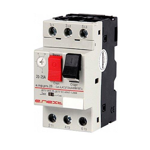 Фото Выключатель для защиты двигателя 20-25А e.mp.pro.25 Электробаза