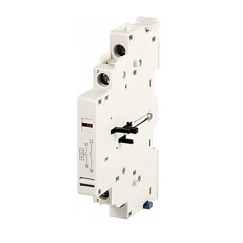 Фото Блок контактов, боковой, для АЗД (0.4-32), e.mp.pro.ad.0101: дополнительный 1NC + сигнал 1NC Электробаза
