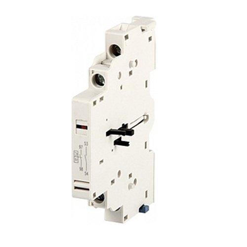 Фото Блок контактов, боковой, для АЗД (0.4-32), e.mp.pro.ad.1001: дополнительный 1NC + сигнал 1NO Электробаза