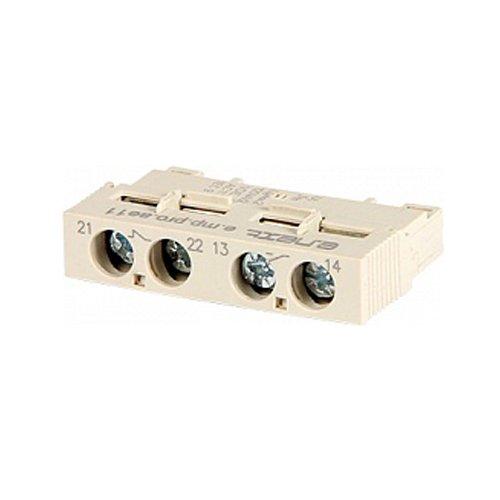 Фото Блок дополнительных контактов, фронтальный, для АЗД (0.4-32), e.mp.pro.ae11: дополнительный 1NO + 1NC Электробаза