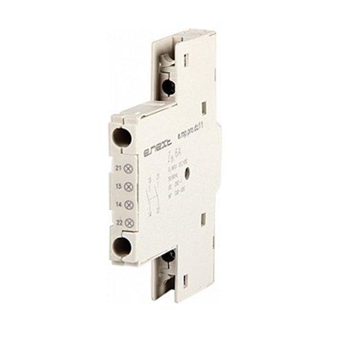 Фото Блок дополнительных контактов, боковой, для АЗД (40-80), e.mp.pro.dz11: дополнительный 1NO + 1NC Электробаза