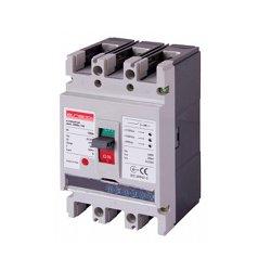 Трёхполюсный автоматический выключатель силовой, с электронным расцепителем, 3р, 100А, e.industrial.ukm.100Re.100