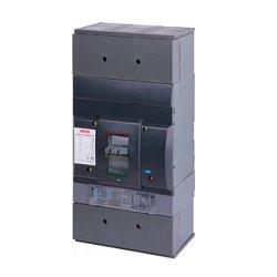 Трёхполюсный автоматический выключатель силовой, с электронным расцепителем, 3р, 1600А, e.industrial.ukm.1600Rе.1600
