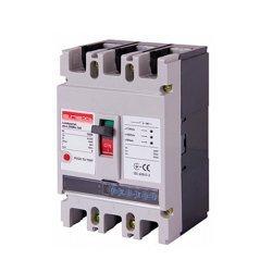 Трёхполюсный автоматический выключатель силовой, с электронным расцепителем, 3р, 160А, e.industrial.ukm.250Re.160