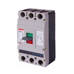 Трёхполюсный автоматический выключатель силовой, с электронным расцепителем, 3р, 250А, e.industrial.ukm.400Re.250