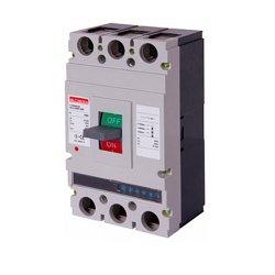 Трёхполюсный автоматический выключатель силовой, с электронным расцепителем, 3р, 400А, e.industrial.ukm.400Rе.400