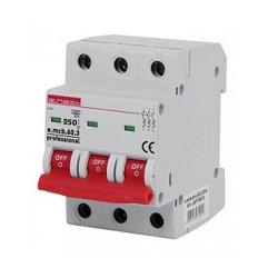 Трёхфазный автоматический выключатель 3р, 50А, D, 6кА, e.mcb.pro.60.3.D.50