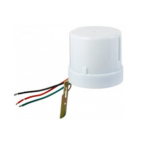 Фото Сумеречное реле 25А, IP44, белое, e.sensor. light-conrol.303.white Электробаза
