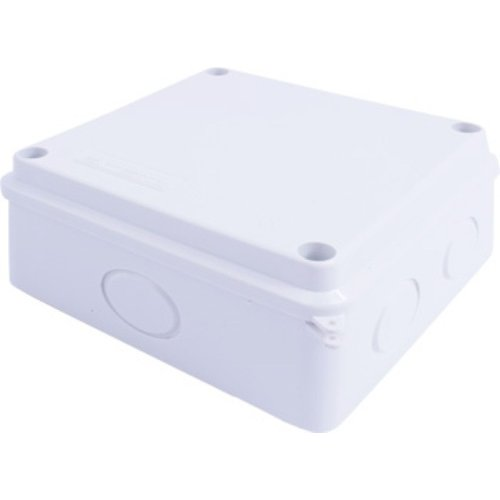 Фото Коробка монтажная 200х200х80 IP 65 без отверстий под вводы e.db.pro.200.200.80 Электробаза