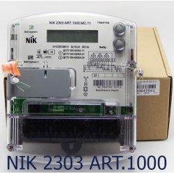 Трёхфазный счётчик НИК 2303 3ф (5-10А) 380В ART.1000.MC.11