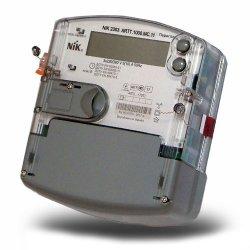 Трёхфазный многотарифный счётчик НИК 2303 3ф (5-10А) 380В ARTТ.1000.MC.11