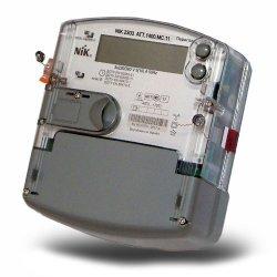 Трёхфазный многотарифный счётчик НИК 2303 ATТ.1400.MC.11 3ф (5-10А) 380В