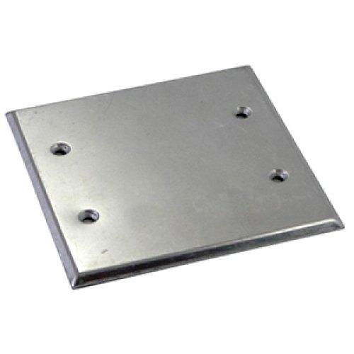 Фото Крышка для металлической монтажной коробки e.industrial.pipe.db.cover