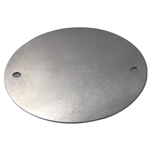 Фото Крышка металлическая для круглой монтажной коробки e.industrial.pipe.db.round.cover