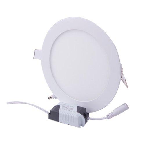 Светильник встроенный светодиодный, круг, 12Вт, 4500К, 840Лм, e.LED.MP.Round.R.12.4500
