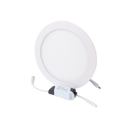 Фото Светильник встроенный светодиодный, круг, 18Вт, 4500К, 1260Лм, e.LED.MP.Round.R.18.4500 Электробаза