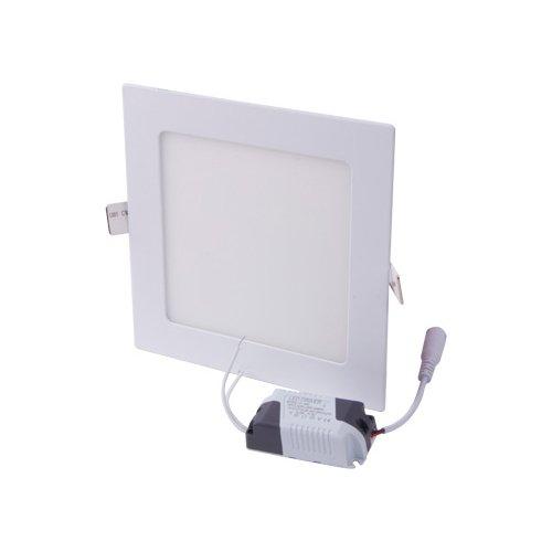 Светильник накладной светодиодный, квадрат, 12Вт, 4500К, 840Лм, e.LED.MP.Square.R.12.4500