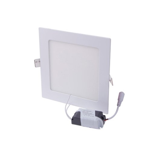 Фото Светильник всраиваемый светодиодный квадрат 18Вт 4500К 1260Лм e.LED.MP.Square.R.18.4500 Электробаза