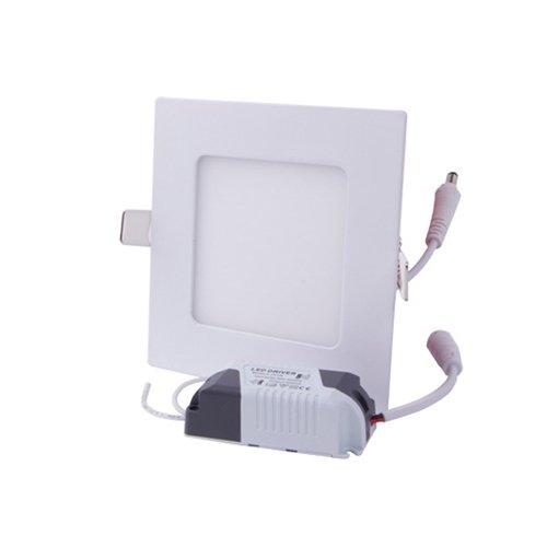 Светильник накладной светодиодный, квадрат, 6Вт, 4500К, 420Лм, e.LED.MP.Square.R.6.4500