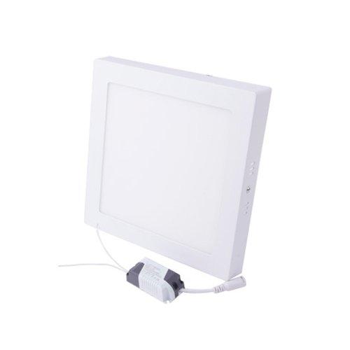 Фото Светильник накладной лед квадрат 18Вт 4500К 1260Лм e.LED.MP.Square.S.18.4500 Электробаза