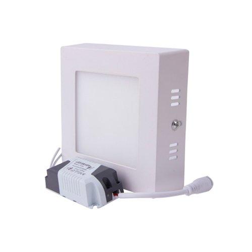 Светильник накладной светодиодный, квадрат, 6Вт, 4500К, 420Лм, e.LED.MP.Square.S.6.4500