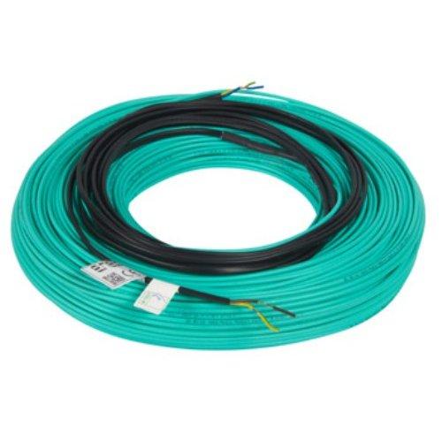 Фото Кабель нагревательный одножильный 75м, 1350Вт, 230В e.heat.cable.s.17.1350. Электробаза