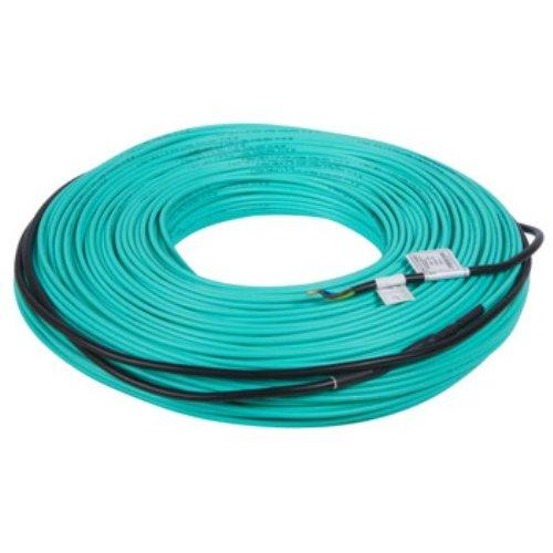 Фото Кабель нагревательный двухжильный 96м, 1650Вт, 230В e.heat.cable.t.17.1650. Электробаза