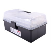 Фото Ящик для инструментов, 225х130х115мм, e.toolbox.13 BLACK