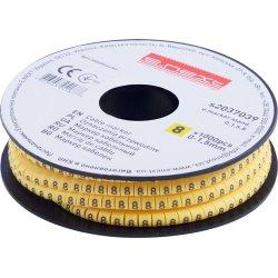 Маркер кабельный, 0-1,5 кв.мм, 8, 1000 шт e.marker.stand.0.1.5.8