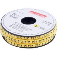 Фото Маркер кабельный, 2-4 кв.мм, 2, 500 шт e.marker.stand.2.4.2