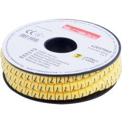 Маркер кабельный, 2-4 кв.мм, 7, 500 шт e.marker.stand.2.4.7